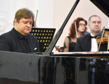 Петр Лаул на концерте в Ульяновске