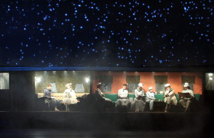 Балет «Анна Каренина». Фото Наташи Разиной © Мариинский театр