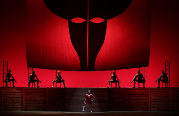 Балет «Кармен-сюита». Фото Наташи Разиной © Мариинский театр