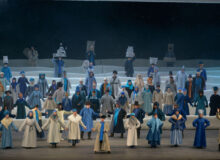 Опера «Левша». Фото Валентина Барановского © Мариинский театр