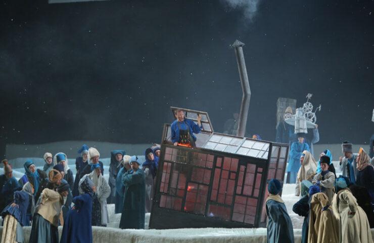 Опера «Левша». Фото Наташи Разиной © Мариинский театр